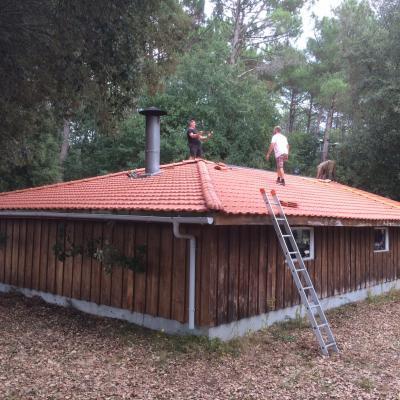 2 Réfection de la toiture du courtiou 09/20